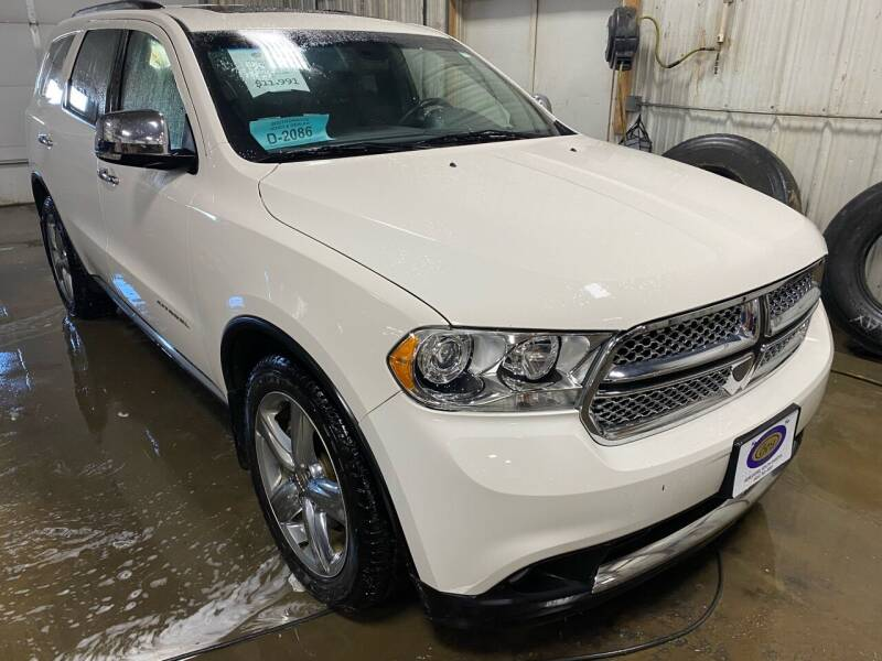 2011 Dodge Durango for sale at BERG AUTO MALL & TRUCKING INC in Beresford SD