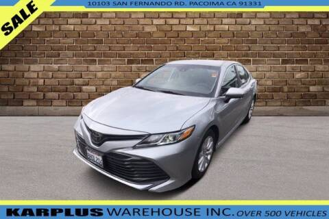 2019 Toyota Camry for sale at Karplus Warehouse in Pacoima CA
