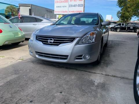 2012 Nissan Altima for sale at Eastside Auto Brokers LLC in Fort Myers FL