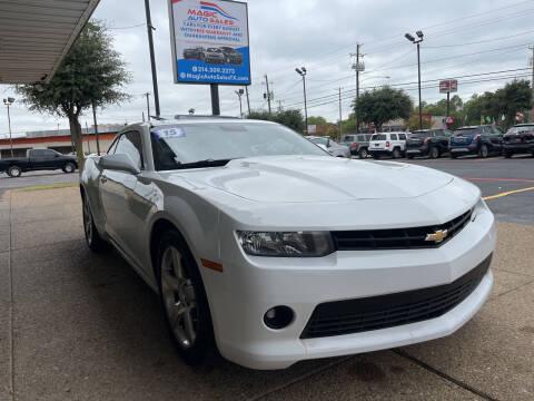 2015 Chevrolet Camaro for sale at Magic Auto Sales in Dallas TX