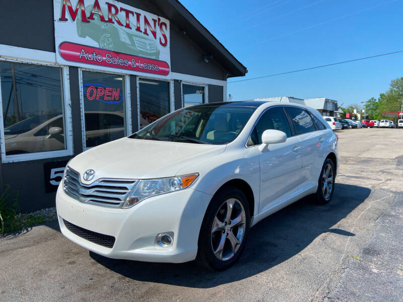 2011 Toyota Venza for sale at Martins Auto Sales in Shelbyville KY