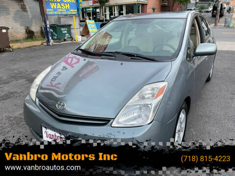 2005 Toyota Prius for sale at Vanbro Motors Inc in Staten Island NY