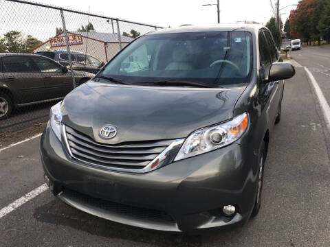 2012 Toyota Sienna for sale at Bayview Motor Club, LLC in Seatac WA