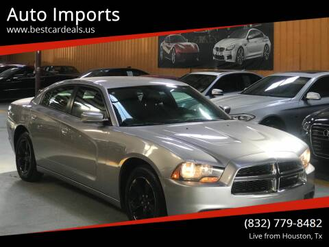 2014 Dodge Charger for sale at Auto Imports in Houston TX