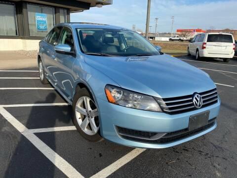 2013 Volkswagen Passat for sale at MotoMaxx in Spring Lake Park MN