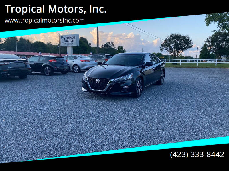 2020 Nissan Altima for sale at Tropical Motors, Inc. in Riceville TN