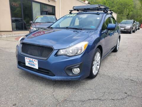 2013 Subaru Impreza for sale at Auto Wholesalers Of Hooksett in Hooksett NH
