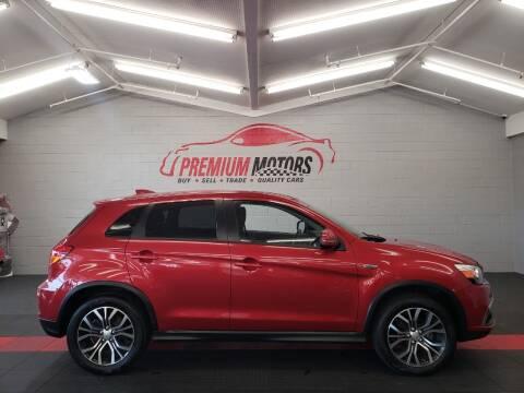 2019 Mitsubishi Outlander Sport for sale at Premium Motors in Villa Park IL