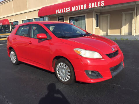 2009 Toyota Matrix for sale at Payless Motor Sales LLC in Burlington NC