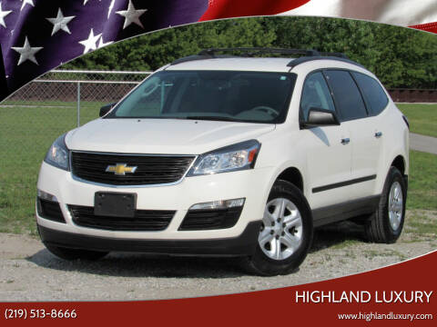 2014 Chevrolet Traverse for sale at Highland Luxury in Highland IN