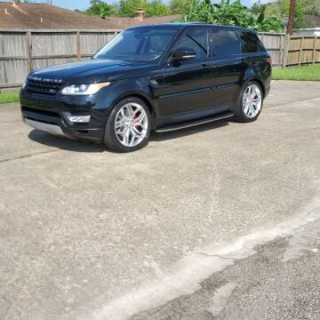 2016 Land Rover Range Rover Sport for sale at MOTORSPORTS IMPORTS in Houston TX