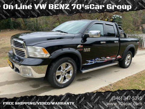2014 RAM Ram Pickup 1500 for sale at On Line VW BENZ 70'sCar Group in Warehouse CA