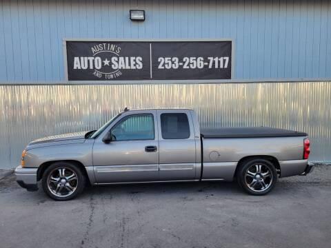 2007 Chevrolet Silverado 1500 Classic for sale at Austin's Auto Sales in Edgewood WA