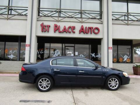 2007 Buick Lucerne for sale at First Place Auto Ctr Inc in Watauga TX