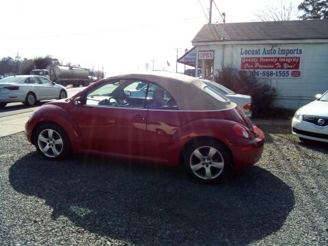 2006 Volkswagen New Beetle Convertible for sale at Locust Auto Imports in Locust NC