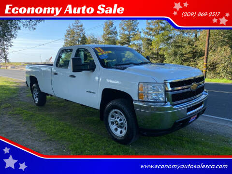 2011 Chevrolet Silverado 3500HD for sale at Economy Auto Sale in Modesto CA