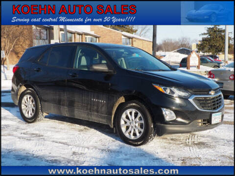 2019 Chevrolet Equinox for sale at Koehn Auto Sales in Lindstrom MN