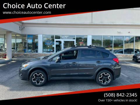 2013 Subaru XV Crosstrek for sale at Choice Auto Center in Shrewsbury MA