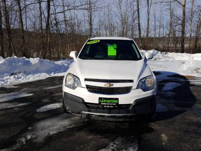 2014 Chevrolet Captiva Sport for sale at L & R Motors in Greene ME