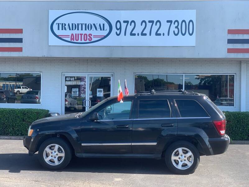 2005 Jeep Grand Cherokee for sale at Traditional Autos in Dallas TX