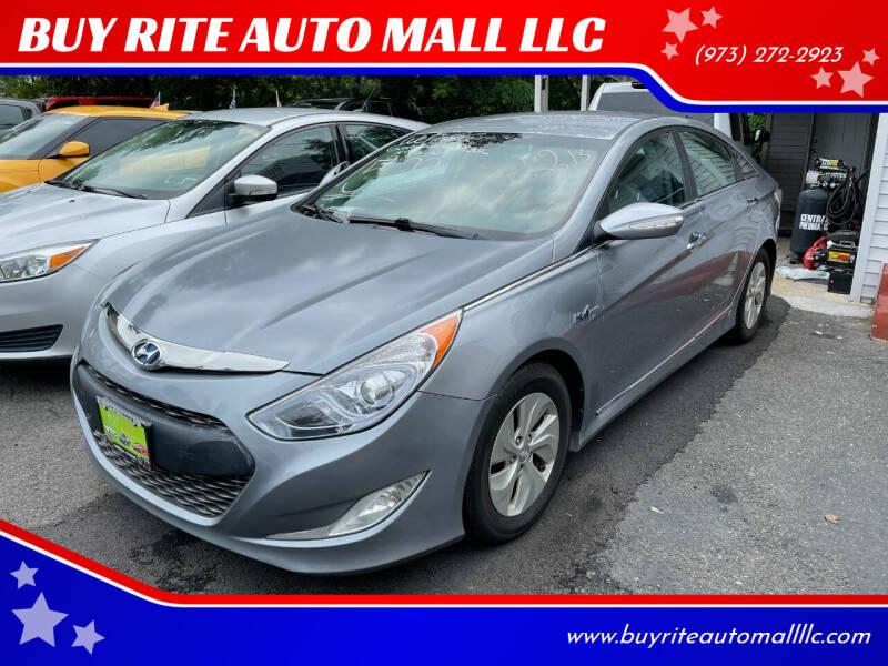 2013 Hyundai Sonata for sale at BUY RITE AUTO MALL LLC in Garfield NJ