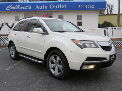 2011 Acura MDX for sale at Colbert's Auto Outlet in Hickory NC