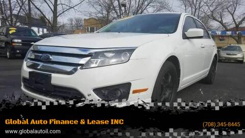 2010 Ford Fusion for sale at Global Auto Finance & Lease INC in Maywood IL