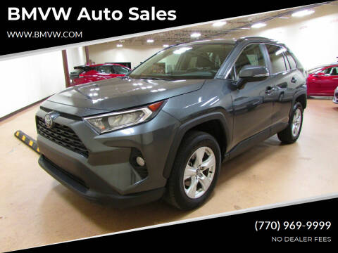 2020 Toyota RAV4 for sale at BMVW Auto Sales in Union City GA