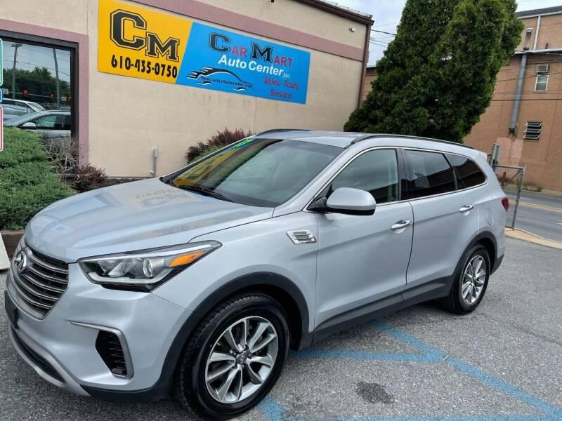 2017 Hyundai Santa Fe for sale at Car Mart Auto Center II, LLC in Allentown PA