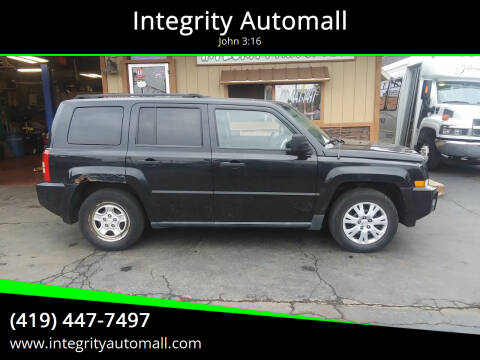 2008 Jeep Patriot for sale at Integrity Automall in Tiffin OH