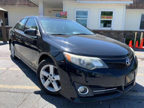 2012 Toyota Camry for sale at Hola Auto Sales in Atlanta GA