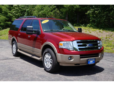 2013 Ford Expedition EL for sale at VILLAGE MOTORS in South Berwick ME