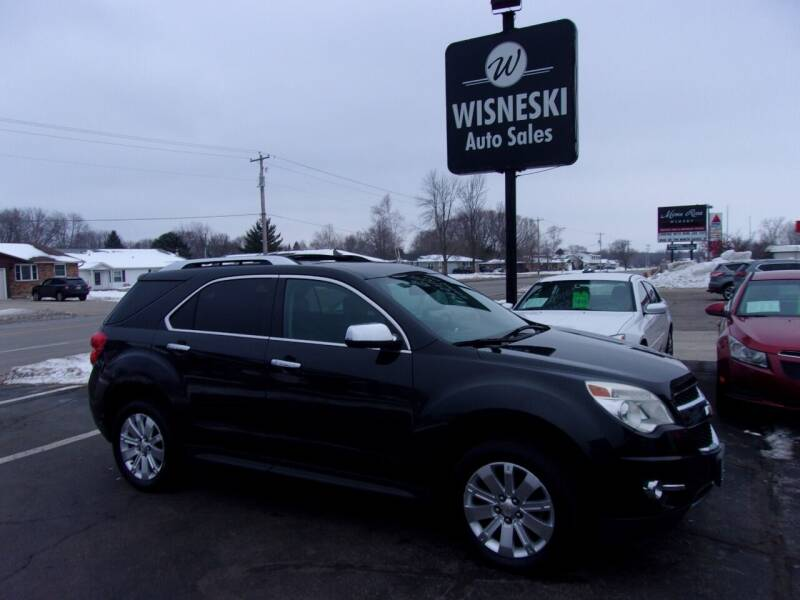 2011 Chevrolet Equinox for sale at Wisneski Auto Sales, Inc. in Green Bay WI