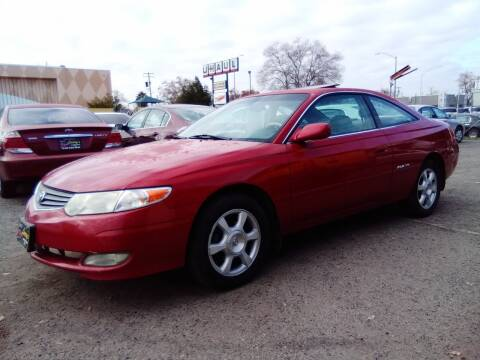 2002 Toyota Camry Solara for sale at Larry's Auto Sales Inc. in Fresno CA
