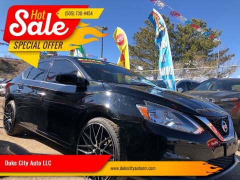 2017 Nissan Sentra for sale at Duke City Auto LLC in Gallup NM