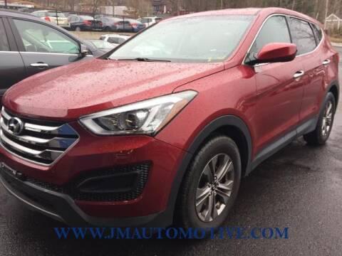 2015 Hyundai Santa Fe Sport for sale at J & M Automotive in Naugatuck CT