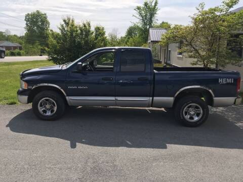 2004 Dodge Ram Pickup 1500 for sale at Wallet Wise Wheels in Montgomery NY