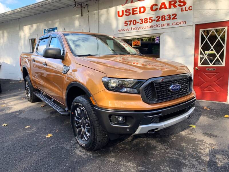 2019 Ford Ranger for sale at Hoys Used Cars in Cressona PA