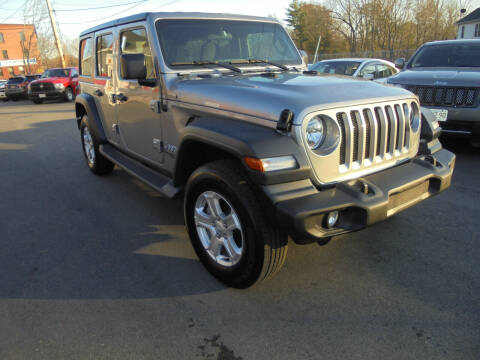 2019 Jeep Wrangler Unlimited for sale at Washington Street Auto Sales in Canton MA