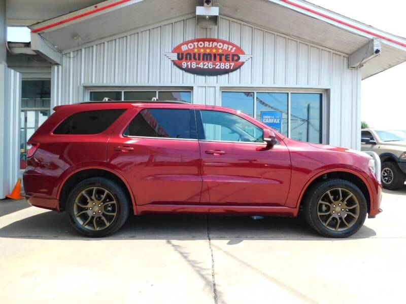 2017 Dodge Durango for sale at Motorsports Unlimited in McAlester OK
