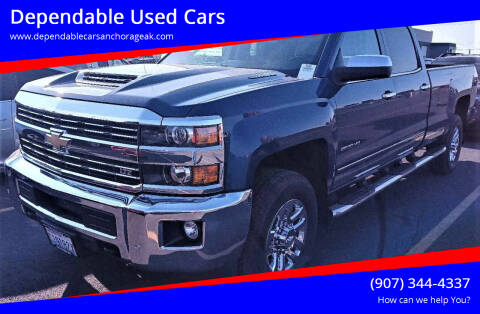 2018 Chevrolet Silverado 2500HD for sale at Dependable Used Cars in Anchorage AK