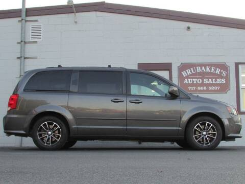 2017 Dodge Grand Caravan for sale at Brubakers Auto Sales in Myerstown PA