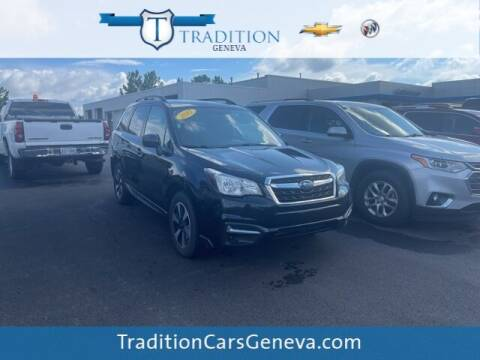 2017 Subaru Forester for sale at Tradition Chevrolet Buick in Geneva NY