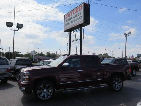 2014 Chevrolet Silverado 1500 for sale at United Auto Sales in Oklahoma City OK