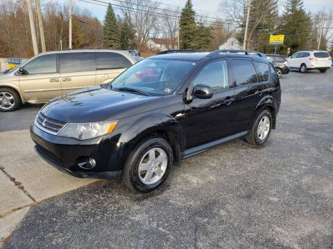 2009 Mitsubishi Outlander for sale at Motorsports Motors LLC in Youngstown OH
