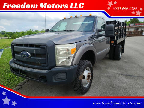 2012 Ford F-350 Super Duty for sale at Freedom Motors LLC in Knoxville TN