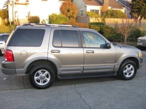 2002 Ford Explorer for sale at UNIVERSITY MOTORSPORTS in Seattle WA