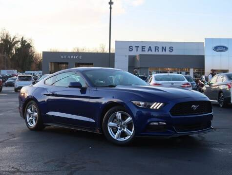 2015 Ford Mustang for sale at Stearns Ford in Burlington NC