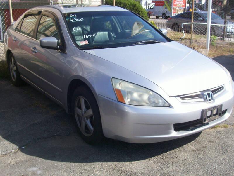 2004 Honda Accord for sale at Dambra Auto Sales in Providence RI