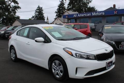 2018 Kia Forte for sale at All American Motors in Tacoma WA